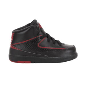 Air Jordan 2 Retro BT Black Varsity Red