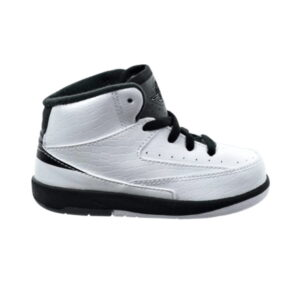 Air Jordan 2 Retro BT White Black Dark Grey