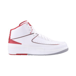 Air Jordan 2 Retro BT White Varsity Red