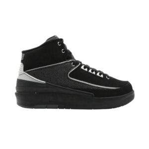 Air Jordan 2 Retro GS Black Chrome
