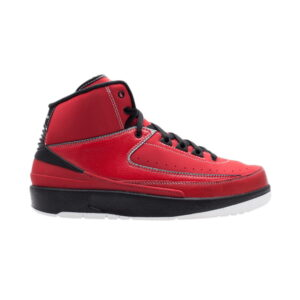 Air Jordan 2 Retro GS Varsity Red Black