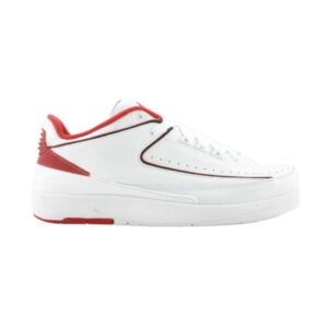 Air Jordan 2 Retro Low White Varsity Red