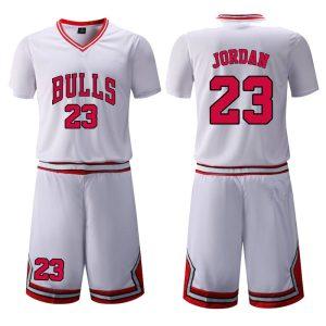 Chicago Bulls White 23 Jordan Uniform