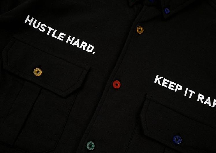 GRAF HustleHard Rare Black Shirt 3