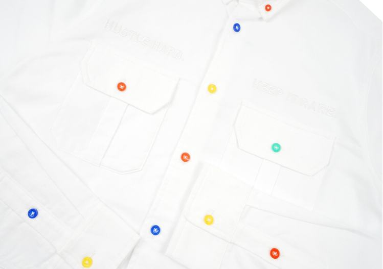 GRAF HustleHard Rare White Shirt 3