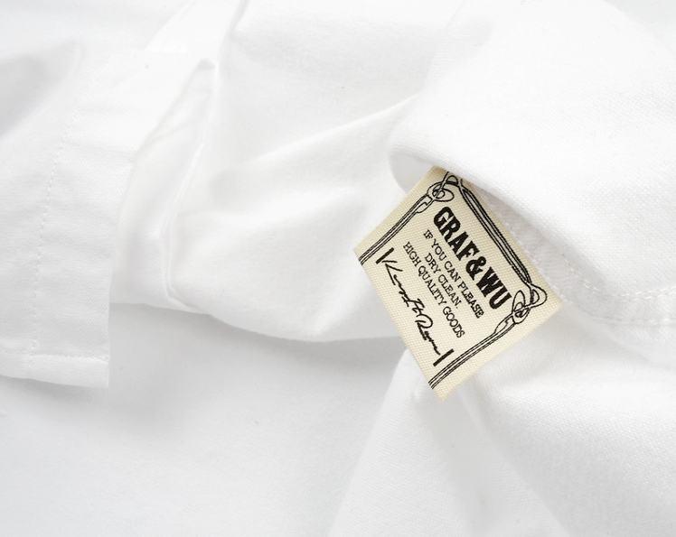 GRAF HustleHard Rare White Shirt 5