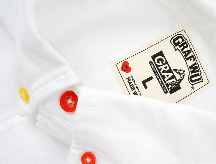 GRAF HustleHard Rare White Shirt 6