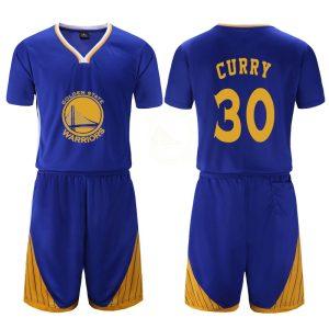Golden State Warriors Blue 30 Curry Uniform