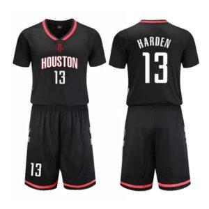 Houston Rockets Black 13 Harden Uniform