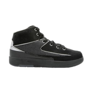 Jordan 2 Retro PS Black Metallic Silver