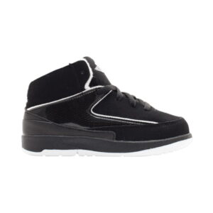 Jordan 2 Retro TD Black White