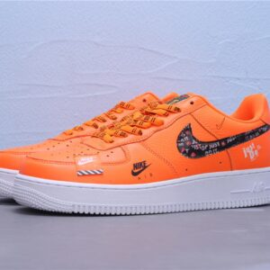 Nike Air Force 1 Low Just Do It Pack Total Orange 1