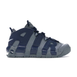Nike Air More Uptempo 96 Cool Grey Midnight Navy GS