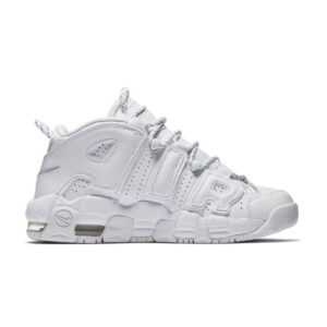 Nike Air More Uptempo Triple White GS