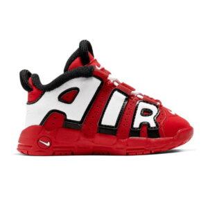 Nike Air More Uptempo University Red Black White TD
