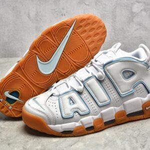 Nike Air More Uptempo White Aqua Gum GS 1