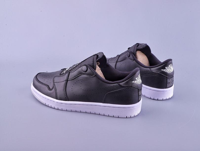 Wmns Air Jordan 1 Low Slip Black 2