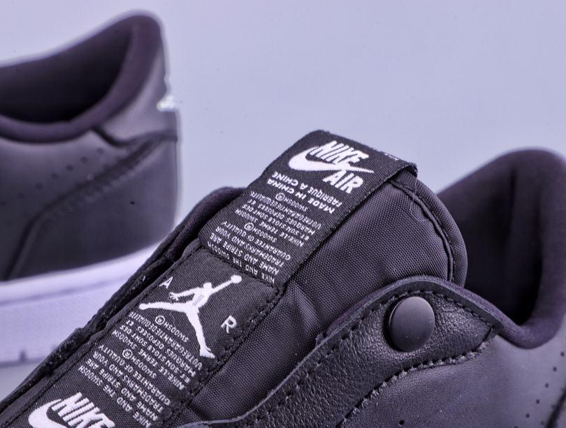Wmns Air Jordan 1 Low Slip Black 5