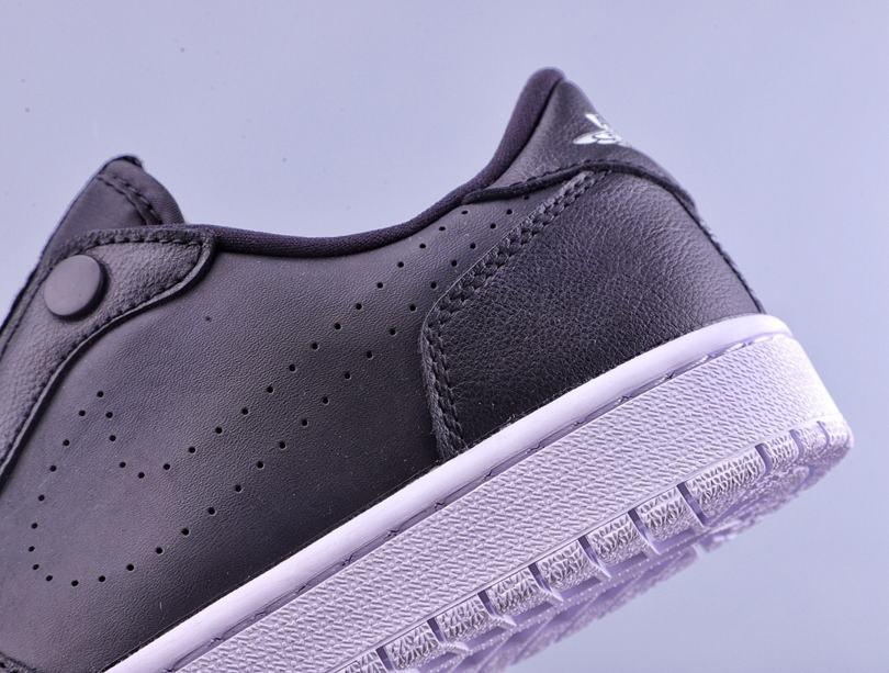 Wmns Air Jordan 1 Low Slip Black 6