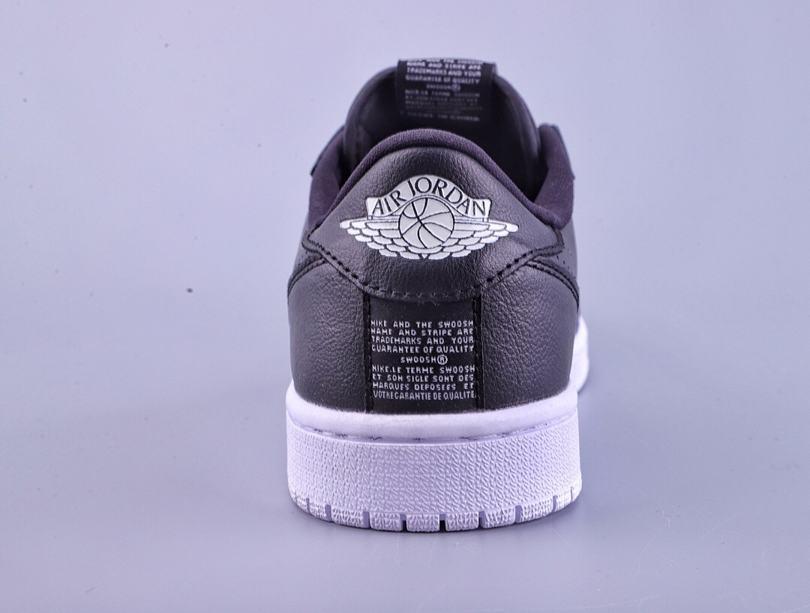 Wmns Air Jordan 1 Low Slip Black 7