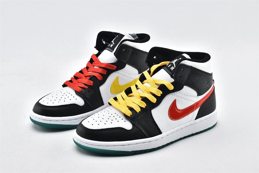 Wmns Air Jordan 1 Mid Alternate Swoosh 5