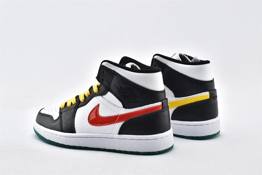 Wmns Air Jordan 1 Mid Alternate Swoosh 9