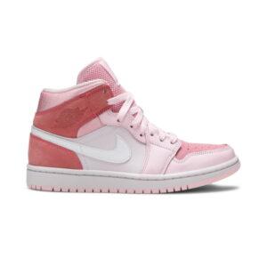 Wmns Air Jordan 1 Mid Digital Pink