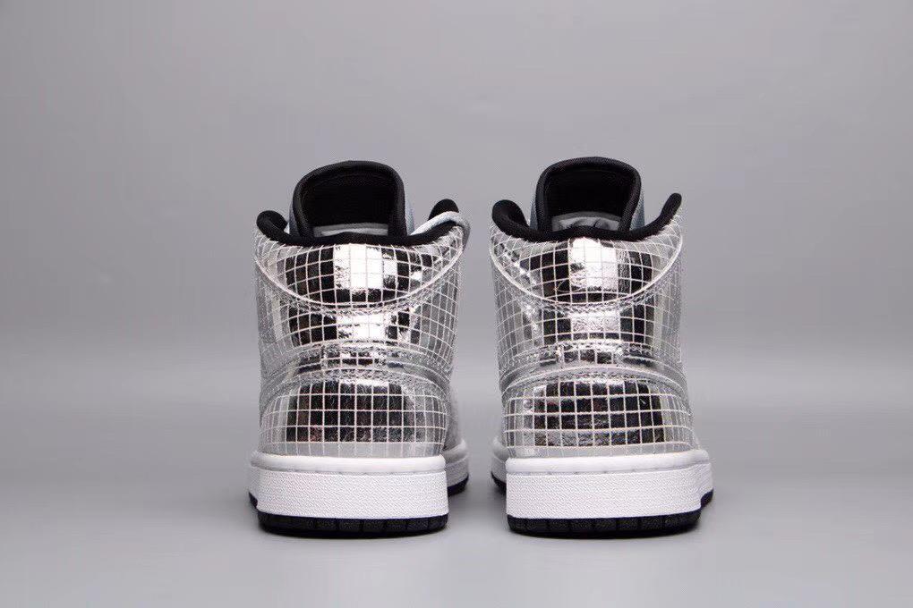 Wmns Air Jordan 1 Mid Disco Ball 5