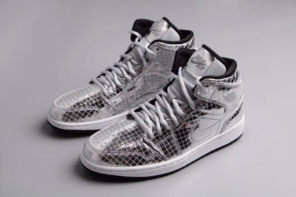 Wmns Air Jordan 1 Mid Disco Ball 7