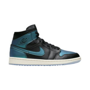 Wmns Air Jordan 1 Mid Metallic Turquoise