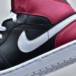 Wmns Air Jordan 1 Mid Noble Red 10