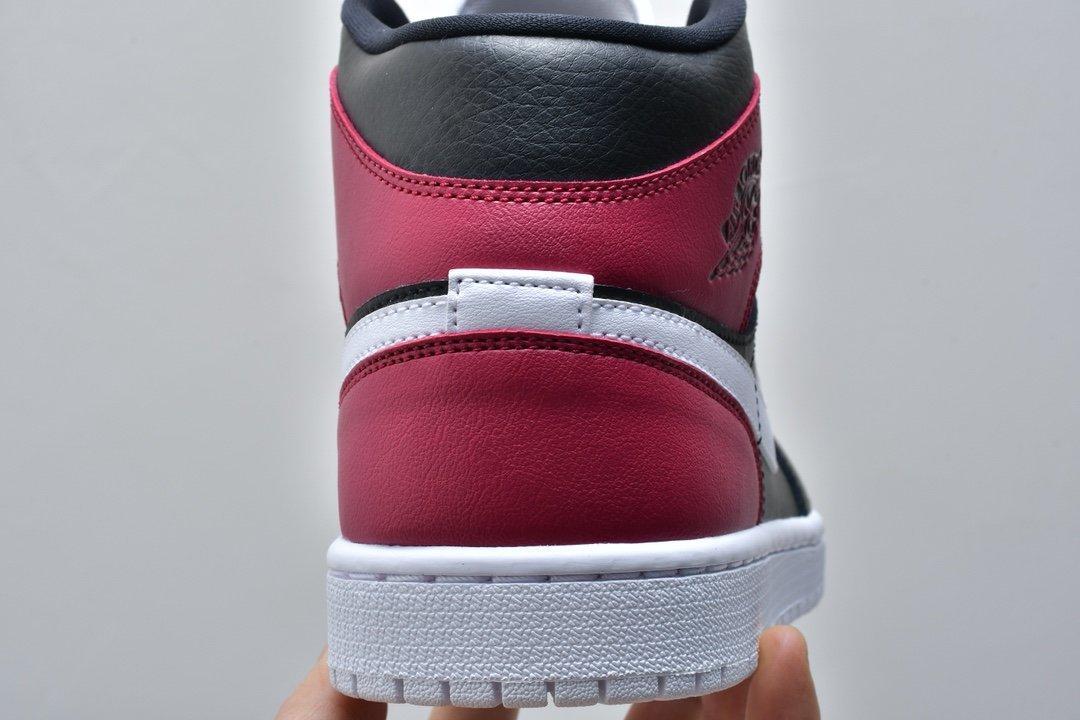 Wmns Air Jordan 1 Mid Noble Red 13