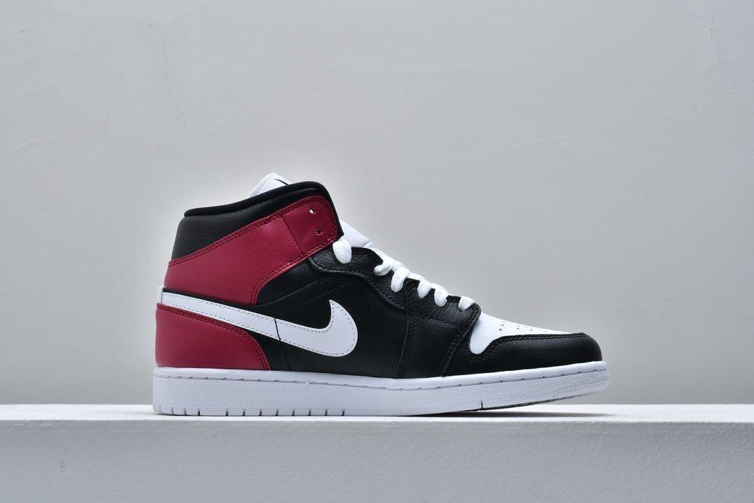 Wmns Air Jordan 1 Mid Noble Red 2