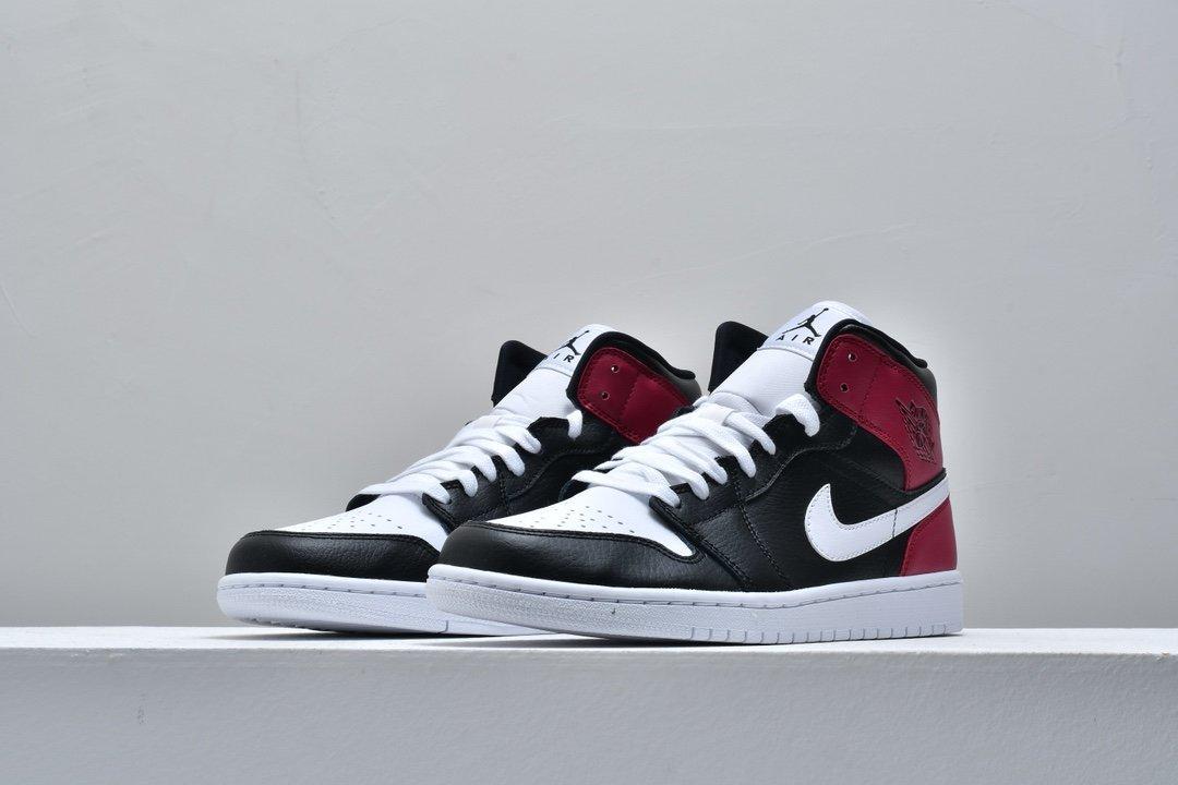 Wmns Air Jordan 1 Mid Noble Red 4