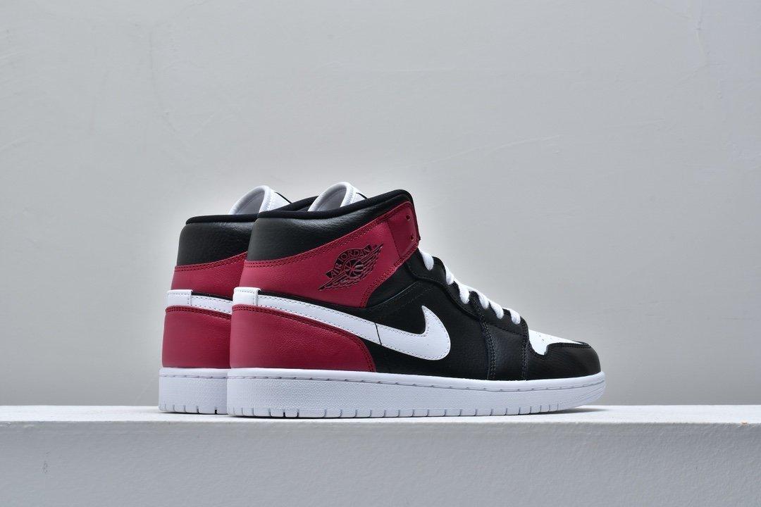 Wmns Air Jordan 1 Mid Noble Red 5