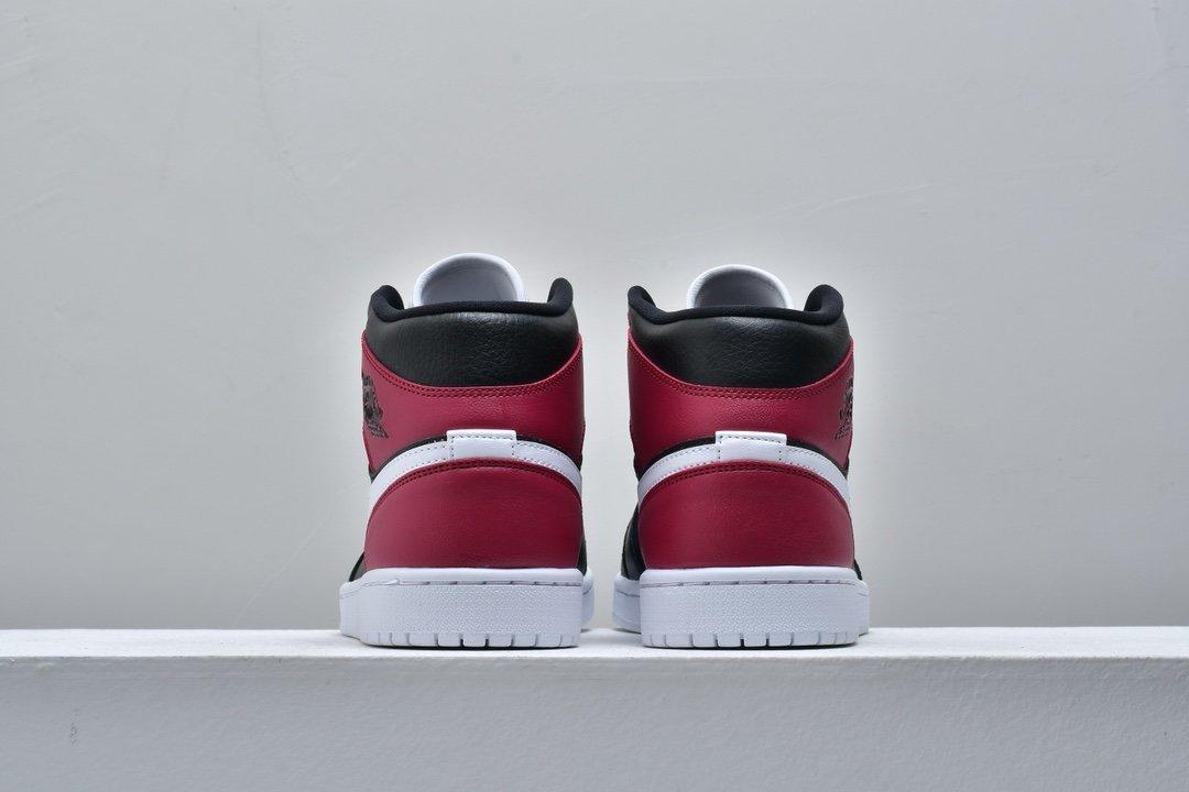 Wmns Air Jordan 1 Mid Noble Red 6