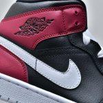 Wmns Air Jordan 1 Mid Noble Red 9