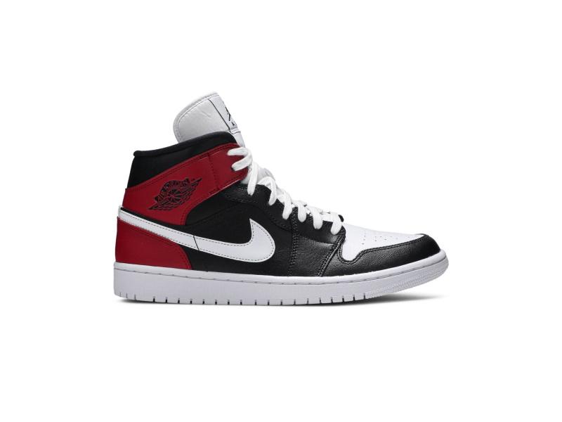Wmns Air Jordan 1 Mid Noble Red