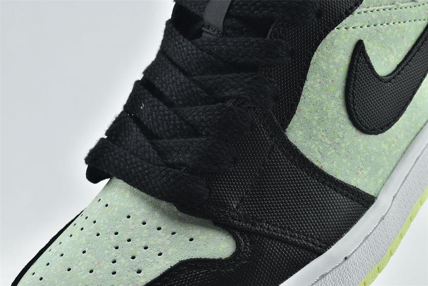 Wmns Air Jordan 1 Mid SE Black Barely Volt 11