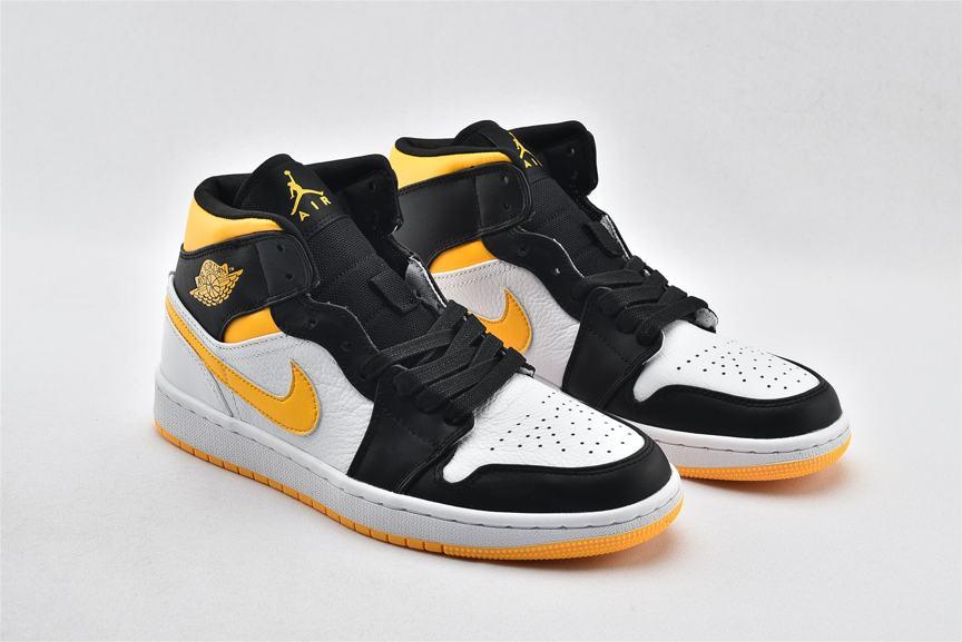 Wmns Air Jordan 1 Mid SE White Laser Orange 9