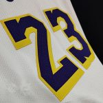 2020 21 LeBron James Lakers White Authentic Association Edition 2
