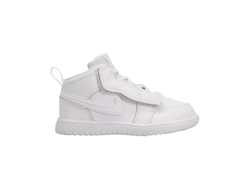 Air Jordan 1 Mid ALT TD Triple White