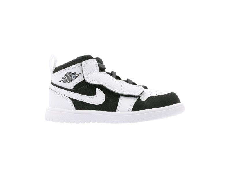Air Jordan 1 Mid ALT TD White Black