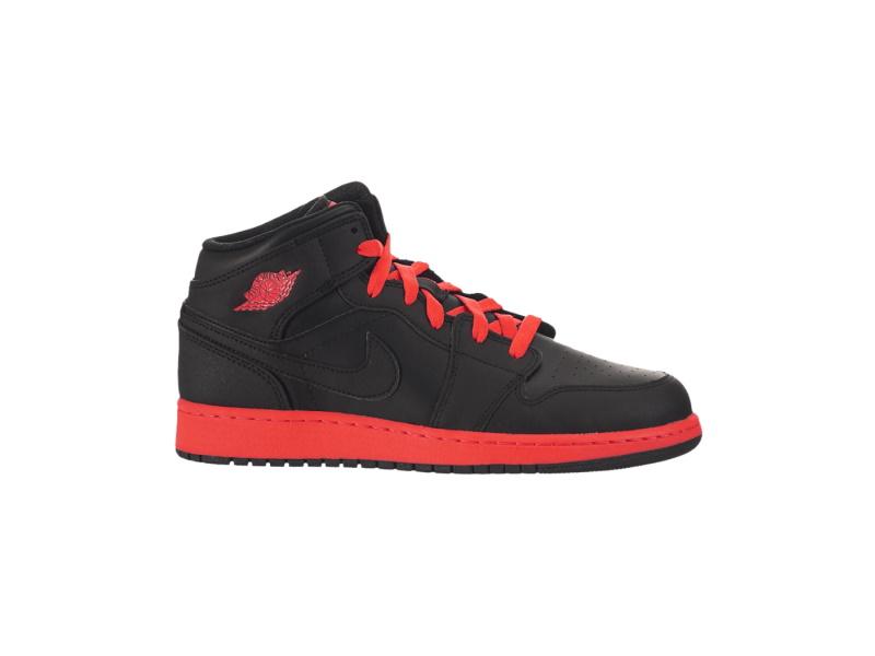 Air Jordan 1 Mid BG Black Infrared