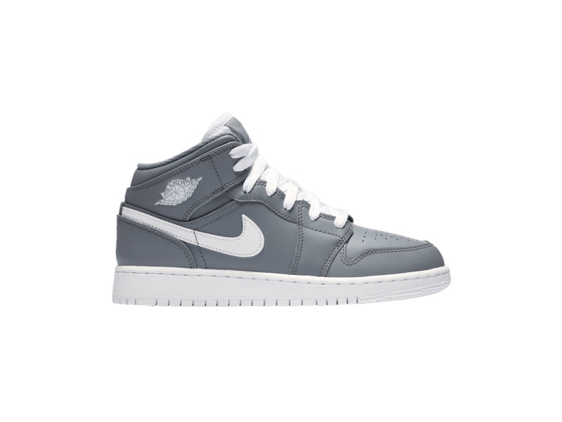 Air Jordan 1 Mid BG Cool Grey