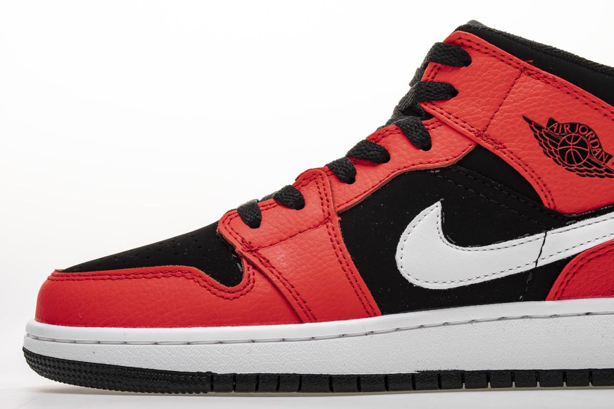 Air Jordan 1 Mid BG Infrared 23 6