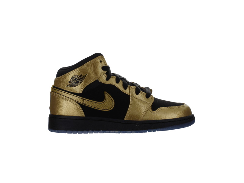 Air Jordan 1 Mid BG Metallic Gold Coin