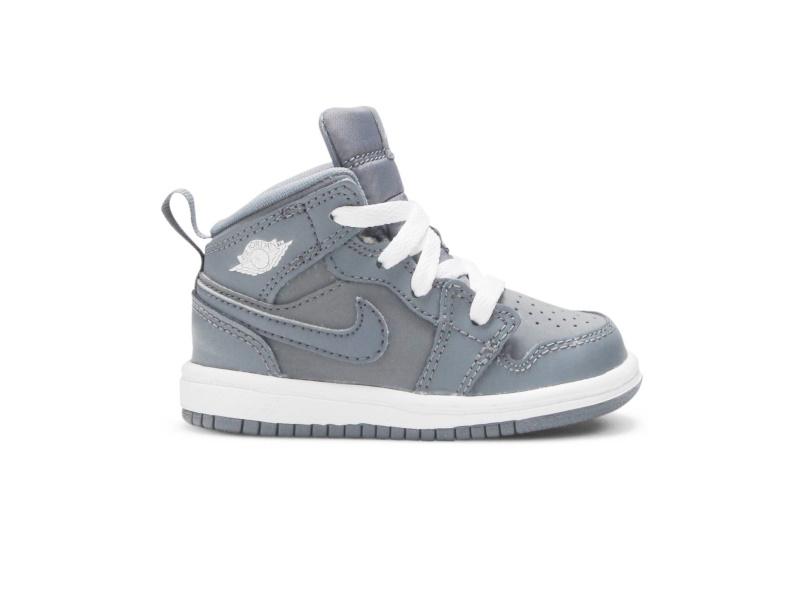 Air Jordan 1 Mid BT Cool Grey