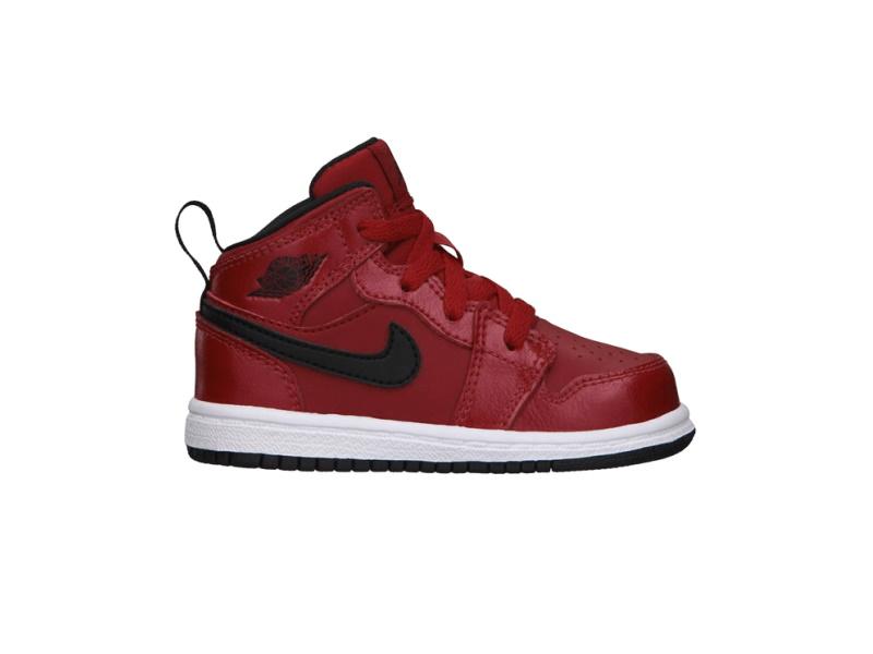 Air Jordan 1 Mid BT Gym Red 1