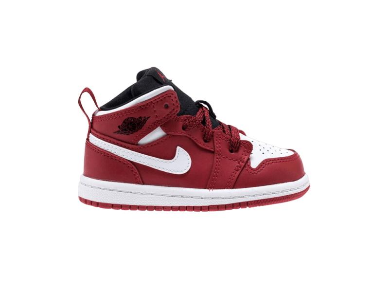 Air Jordan 1 Mid BT Red